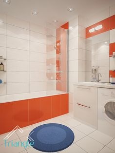 Квартира в Скандинавском стиле. Ванная