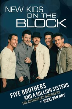 nkotb five brothers and a million sisters