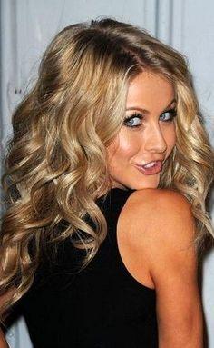 Julianne Hough curly hair