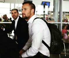 Swiss Football Team ⚽ Valon Berhami and Haris Seferovic in Lithuania ✈⚽❤