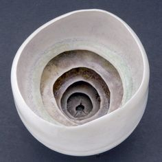 ceramic white clay art sculpture by Ruth Duckworth
