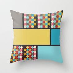 Dovetail Throw Pillow cover by Ramon Martinez Jr - $20.00
