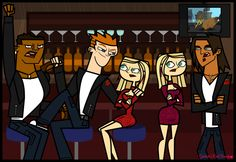 Total Drama- The RVB with the twins! by Galactic-Red-Beauty on DeviantArt