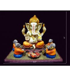Do you want to buy Ganesha Statue? Get best Ganesha fiber idols online @ lowest price with free shipping in India from krafthub.com Only Rs 3100/-