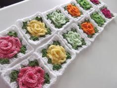 Apple Blossom Dreams: C.A.L. Granny Rose Week #4 of 5