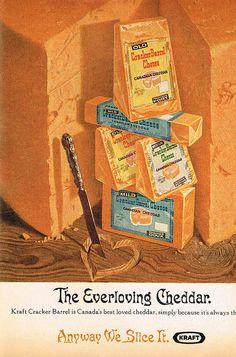 Vintage Ad #1,792: The Everloving Cheddar by jbcurio, via Flickr