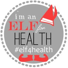 """@nutritionella and @LeanGrnBeanBlog #elf4health challenge! An awesome way to stay on top of your health/fitness this holiday season. Sign up for your """"elf""""!"""