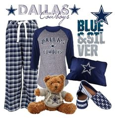 """""""Dallas Cowboys"""" by angelarmoyer ❤ liked on Polyvore featuring plus size clothing"""