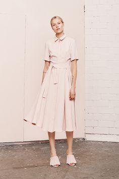 SEREIN  short sleeve shirt dress  UNDRESS SS17 collection  www.iwearundress.com