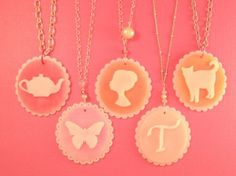 Cameo Shrink Plastic Jewelry by Tamara