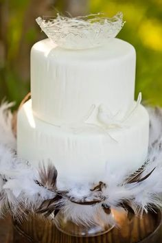 Птичий торт