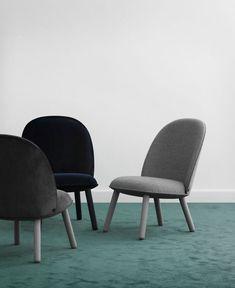 Collection ACE : chaise, fauteuil, canapé, ottoman - Normann Copenhagen