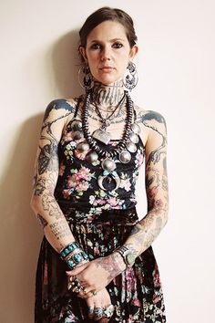 """NYC's 6 Coolest Tattoo Artists — & The Ink That Proves It! #refinery29 http://www.refinery29.com/nyc-best-tattoo-artists#slide17 Minka SicklingerYears of Experience: 5Find Her At: MinkaSicklinger.comWhy did you decide you wanted to become a tattoo artist? """"My interest from a very young age in anthropology and rituals throughout the history of mankind in different cultures."""""""