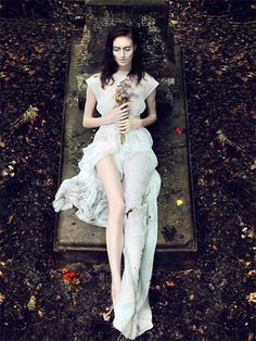 Whimsical Cemetery Photos - The Series Starring Natalia Andriyasova by Andrew Akimov is Enchanting (GALLERY)