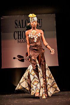1000 images about robe en chocolat chocolate dresses on for Salon de la couture