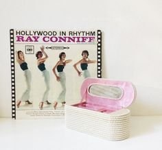 Vintage jewellery box pearl jewellery storage by GoodsGarb on Etsy