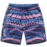 Trum Namii Boys Quick Dry Swim Trunks Purple Marijuana Leaf Shorts