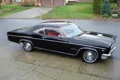 1966 chevy impala ss My first car only with white interior.