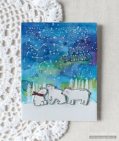 Flora & Fauna: Arctic Starry Night by RejoicingCrafts