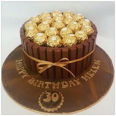 Chocolat Ferrero Rocher, Torta Ferrero Rocher, Rocher Torte, Ferrero Rocher Chocolates, Ferrero Rocher Bouquet, Chocolate Bouquet, Chocolate Cake, Ferrero Chocolate, Tienda Chocolate