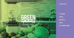 Vote for your favorite green recipe by liking, sharing & commenting on its photo!