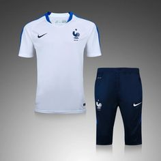 Maillot Training France  Blanc