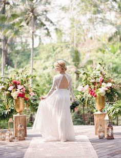 A Romantic Elopement in Bali | Green Wedding Shoes Wedding Blog | Wedding Trends for Stylish + Creative Brides