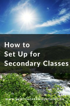 [et_pb_section admin_label=section][et_pb_row admin_label=row][et_pb_column type=3_4][et_pb_text admin_label=Text] How to Set Up for Secondary Classes Organizing yourself for teaching is the first thing you should do to get ready for school. Here's a list of many of the supplies you will need, ways to organize records, your parents and your students plus guidelines in setting up your learning environment. Set Up Your School Calendar   	Add testing dates, beginning and ...