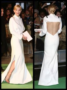 Cate Blanchett at 'The Hobbit' Premiere: Back -- and Plenty Of It -- in Givenchy Fabulousness | Hollywood Reporter
