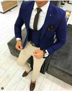 Cool n classy look and it's all about the Combination? Mens Suits, Suit Jacket, Men Outfits, Men Suits, Mens Business Dress, Jacket, Men Formal, Suit Jackets, Smoking Jacket