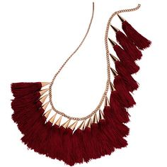 Eddie Borgo tassel necklace - Shop more chic bohemian accessories in #TheLIST