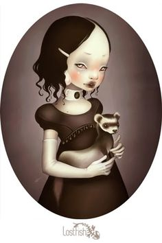 Synesthesia Garden - a weird art + style blog | » Blog Archive » Doll Parts – The Art of Lost Fish