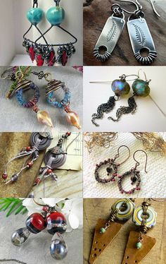 Earrings Everyday by Kristi Bowman on Etsy--Pinned with TreasuryPin.com