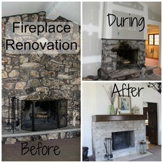 Don't you love fireplace renovations? Do you watch lots of HGTV too? And watch how the fireplace is often the major focal piece. And, watch the transition from just OK to something truly inspiring? Well, I had a chance to watch a fireplace transition. Live! The best part was that I didn't have […]