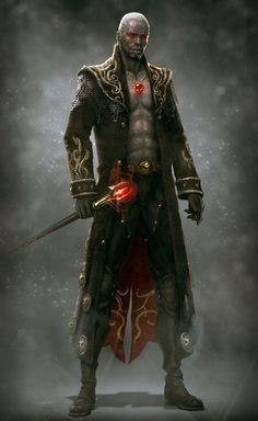 Reaper King Chaostro Ragnorok Fantasy Male, High Fantasy, Fantasy Rpg, Medieval Fantasy, Fantasy World, Fantasy Artwork, Character Concept, Concept Art, Character Art