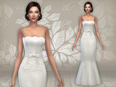Lana CC Finds - Wedding dress 03 by BEO