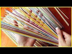"""Раскрываю """"секреты"""" моих трубочек! (плетение из газет) - YouTube"""