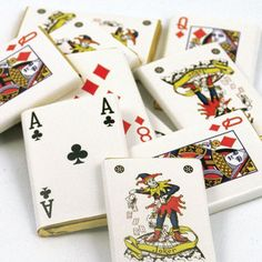 Chocolate Playing Cards (500g)