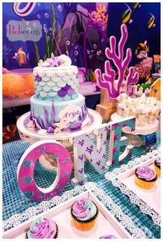 Under The Sea Birthday Party | CatchMyParty.com