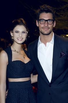 David Gandy & Bianca Balti...two of my absolute favorite people