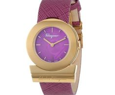Salvatore Ferragamo Gancino Rose Gold Ion-Plated Watch ►► http://www.gemstoneslist.com/womens-watches/salvatore-ferragamo-womens-watches.html?i=p