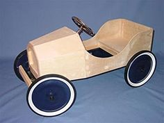 Wooden Pedal Car Kit (Chasis and Body)