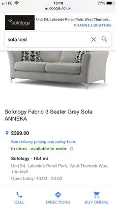 Gray Sofa, New Room, Sofa Bed, The Unit, Shopping, Sleeper Couch, Sleeper Sofa, Daybed, Bed Sofa