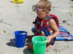 Random Ramblings: Beach Must Haves For Kids