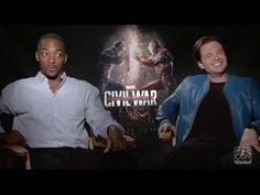 Anthony Mackie and Sebastian Stan: Exclusive Salt Lake Comic Con Interview!  #civilwar