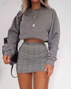 Street Style Outfits, Summer Fashion Outfits, Cute Casual Outfits, Mode Outfits, Girly Outfits, Retro Outfits, Stylish Outfits, Winter Outfits, Plad Outfits