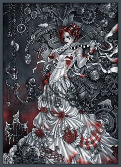 Steampunk Alice in Wonderland | Alice in Wonderland meets Steampunk.
