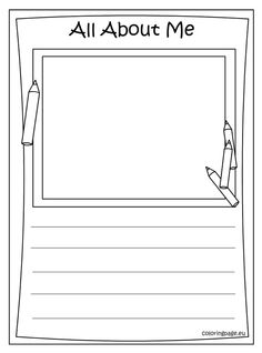 Open book coloring page School Pinterest Open book Teacher