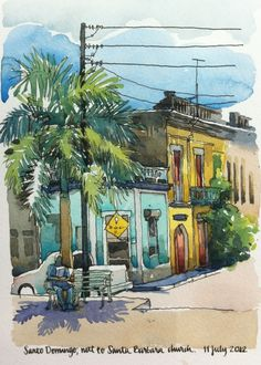 A first look at Santo Domingo, by Nina Johansson, 2012
