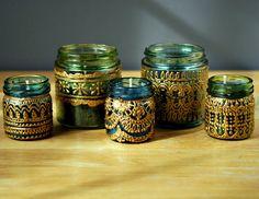 pot en verre marocain